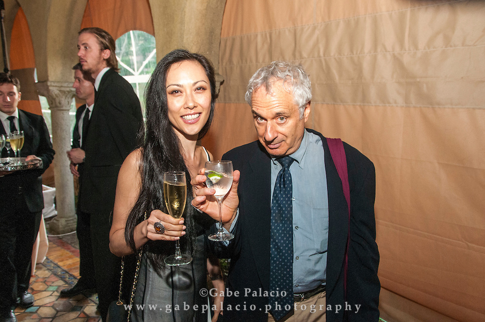 Post Concert reception with The Knights in the reception tent during the fall festival at Caramoor in Katonah New York<br /> photo by Gabe Palacio