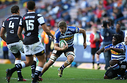 Kobus van Dyk of Western Province on the attack during the Currie Cup Premier Division match between the DHL Western Province and the Sharks held at the DHL Newlands Rugby Stadium in Cape Town, South Africa on the 3rd September  2016<br /> <br /> Photo by: Shaun Roy / RealTime Images
