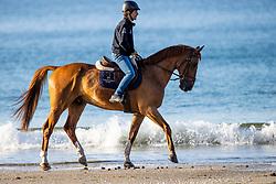 Beach ride<br /> CSIO La Baule 2021<br /> © Hippo Foto - Dirk Caremans<br />  12/06/2021