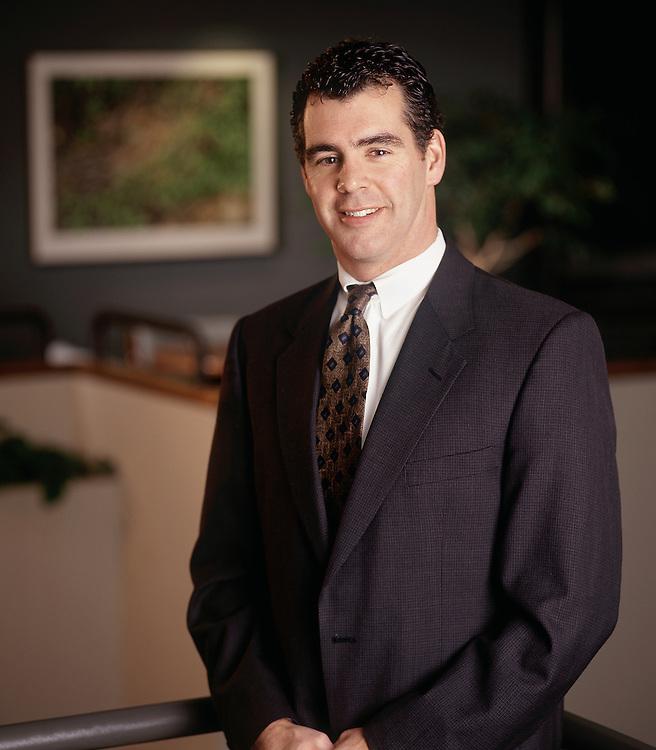 Excutive Portrait Financial Male