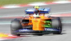 May 10, 2019 - Barcelona, Spain - McLaren of Lando Norris during the practices of the GP Spain Formula 1, on 10th May 2019, Barcelona, Spain. (Credit Image: © Joan Valls/NurPhoto via ZUMA Press)