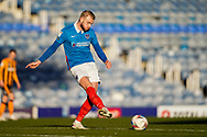 Jack Whatmough of Portsmouth in action during the EFL Sky Bet League 1 match between Portsmouth and Hull City at Fratton Park, Portsmouth, England on 23 January 2021.