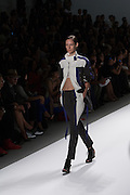 A black and white outfit by Richard Chai at the Spring 2013 Mercedes Benz Fashion Week show in New York.
