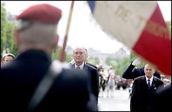 September 21, 2016 - Paris, France - JACQUES CHIRAC. C√©r√©monies du 8 Mai. (Credit Image: © Visual via ZUMA Press)