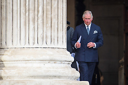 The Duke Cornwall attending the Grenfell Tower National Memorial Service, at St Paul's Cathedral in London, which marked the six month anniversary of the Grenfell Tower fire. Picture date: Thursday December 14th, 2017. Photo credit should read: Matt Crossick/ EMPICS Entertainment.