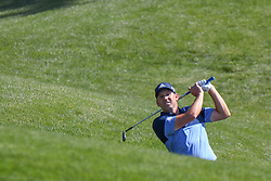 May 2, 2019 - Charlotte, NC, U.S. - CHARLOTTE, NC - MAY 02: Sergio Garcia hits an approach shot from the rough during the first round of the Wells Fargo Championship at Quail Hollow on May 2, 2019 in Charlotte, NC. (Photo by William Howard/Icon Sportswire) (Credit Image: © William Howard/Icon SMI via ZUMA Press)