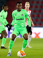Abdullahi Shehu of Omonia Nicosia during the UEFA Europa League, Group E football match between PSV and Omonia Nicosia on December 10, 2020 at Philips Stadion in Eindhoven, Netherlands - Photo Perry vd Leuvert / Orange Pictures / ProSportsImages / DPPI