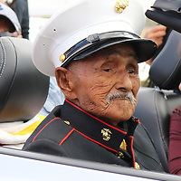 Navajo Code talker William Brown is seen in this courtesy  photo taken Aug. 25 in Chinle, Arizona.Brown died Monday.