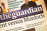 British newspaper The Guardian.