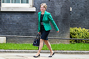 """London, United Kingdom, May 28, 2021: Baroness Harding of Winscombe Diana """"Dido"""" Harding arrives at Number Ten in Downing Street in London on Friday, May 28, 2021.<br /> She is a British businesswoman and Conservative life peer serving as chairwoman of NHS Improvement since 2017. During the COVID-19 pandemic, she was the head of the NHS Test and Trace programme until April 2021. (Photo by Vudi Xhymshiti)"""