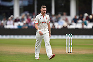 Sam Cook of Essex during the Specsavers County Champ Div 1 match between Somerset County Cricket Club and Essex County Cricket Club at the Cooper Associates County Ground, Taunton, United Kingdom on 23 September 2019.