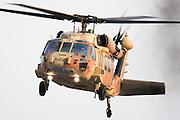 Israeli Air force helicopter, Sikorsky S-70 UH-60 Black Hawk