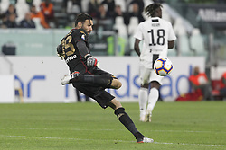 May 3, 2019 - Turin, Piedmont, Italy - Salvatore Sirigu (Torino FC) during the Serie A football match between Juventus FC and Torino FC at Allianz Stadium on May 03, 2019 in Turin, Italy..Final results: 1-1. (Credit Image: © Massimiliano Ferraro/NurPhoto via ZUMA Press)