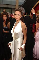 Feb 29, 2004; Hollywood, CA, USA; OSCARS 2004: Actress ANGELINA JOLIE arrives at the 76th Annual Academy Awards held at the Kodak Theatre in Hollywood. (Credit Image: © Branimir Kvartuc/ZUMAPRESS.com)