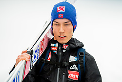 January 19, 2018 - Oberstdorf, GERMANY - 180119 Johann AndrŽ Forfang of Norway after the qualification ahead of the individual competition during the FIS Ski Flying World Championships on January 19, 2018 in Oberstdorf..Photo: Vegard Wivestad GrÂ¿tt / BILDBYRN / kod VG / 170079 (Credit Image: © Vegard Wivestad Gr¯Tt/Bildbyran via ZUMA Wire)