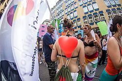 June 24, 2017 - Milano, Italy - Annual Milano Gay Pride 2017. (Credit Image: © Mairo Cinquetti/Pacific Press via ZUMA Wire)