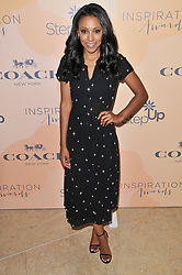 Meagan Holder arrives at Step Up's 14th Annual Inspiration Awards held athe Beverly Hilton in Beverly Hills, CA on Friday, June 2, 2017. (Photo By Sthanlee B. Mirador) *** Please Use Credit from Credit Field ***