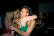 KATE PRINCE AND  NADIA GARDINER , INTO THE HOODS - a hip hop dance musical -opening  at the Novello Theatre on The Aldwych. After- party at TAMARAI at 167 Drury Lane, London. 27 March 2008.   *** Local Caption *** -DO NOT ARCHIVE-© Copyright Photograph by Dafydd Jones. 248 Clapham Rd. London SW9 0PZ. Tel 0207 820 0771. www.dafjones.com.