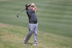 March 21, 2018 - Austin, TX, U.S. - AUSTIN, TX - MARCH 21: Pat Perez (USA) hits from the rough during the First Round of the WGC-Dell Technologies Match Play on March 21, 2018 at Austin Country Club in Austin, TX. (Photo by George Walker/Icon Sportswire) (Credit Image: © George Walker/Icon SMI via ZUMA Press)