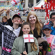 Thousands attended the Feast of St George celebrations in Trafalgar Square, London, UK on April 22, 2017.The event that was filled with music and entertainment was organized by the Mayor of London, Boris Johnson. St George is the patron Saint of England. by See Li