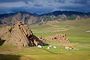 Ger camp, Gorkhi-Terelj National Park, Mongolia