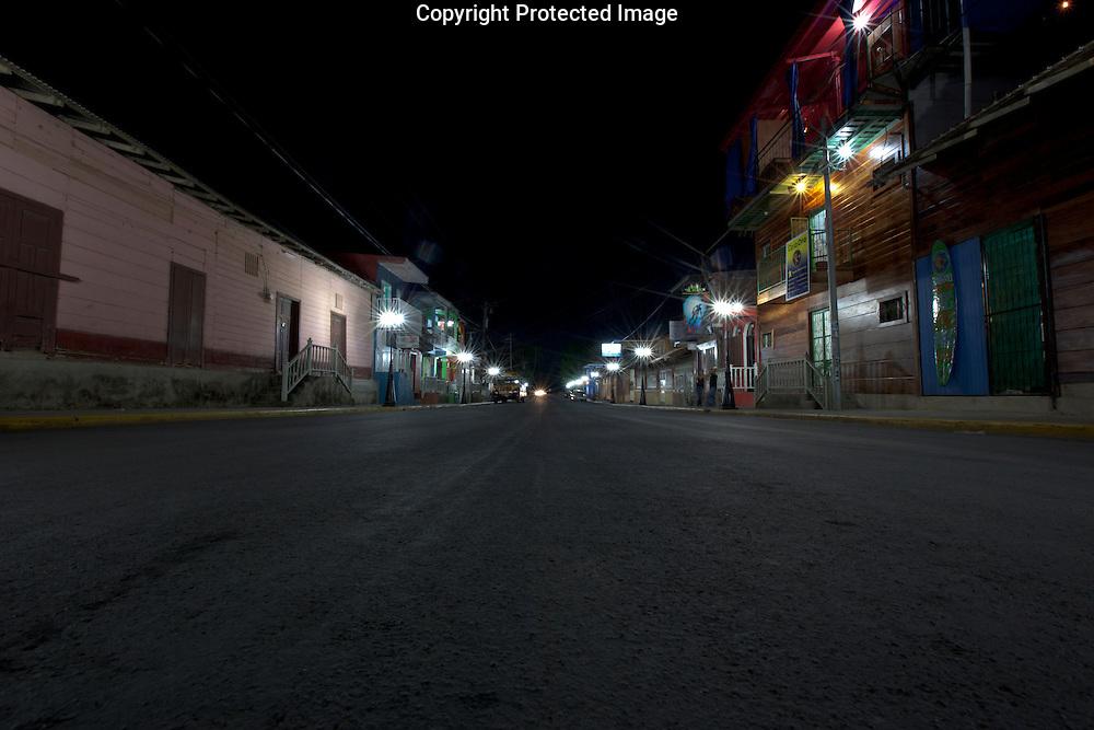 A street in San Juan Del Sur, Nicaragua on Thursday, February 17th 2011.