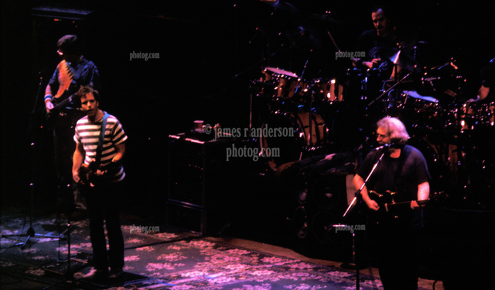 Phil, Bobby, Billy & Jerry. The Grateful Dead in Concert at the Hartford Civic Center 26 March 1987