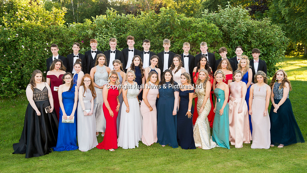 27 June 2019: Somercotes Academy Year 11 prom at the Brackenborough Hotel near Louth.<br /> Picture: Sean Spencer/Hull News & Pictures Ltd<br /> 01482 210267/07976 433960<br /> www.hullnews.co.uk         sean@hullnews.co.uk