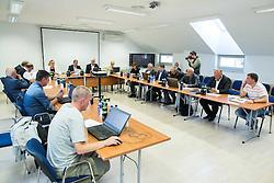 Meeting of Executive Committee of Ski Association of Slovenia (SZS) on September 22, 2015 in SZS, Ljubljana, Slovenia. Photo by Vid Ponikvar / Sportida