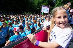 Vesna during 5km and 10km running race 9. DM Tek za zenske on May 31, 2014 in Tivoli, Ljubljana, Slovenia. Photo by Vid Ponikvar / Sportida