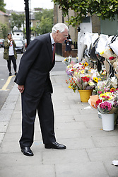 © Licensed to London News Pictures. 29/06/2017. London, UK. Retired Court of Appeal judge Sir Martin Moore-Bick is seen at St Clements Church after meeting with Grenfell fire survivors. He has been chosen to lead the public inquiry into the Grenfell Tower fire. Photo credit: Peter Macdiarmid/LNP