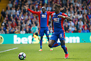 Crystal Palace midfielder Wilfried Zaha during the Premier League match between Crystal Palace and Hull City at Selhurst Park, London, England on 14 May 2017. Photo by Andy Walter.