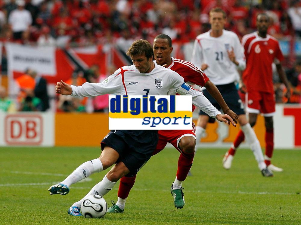 Photo: Glyn Thomas.<br />England v Trinidad & Tobago. Group B, FIFA World Cup 2006. 15/06/2006.<br /> England's David Beckham.