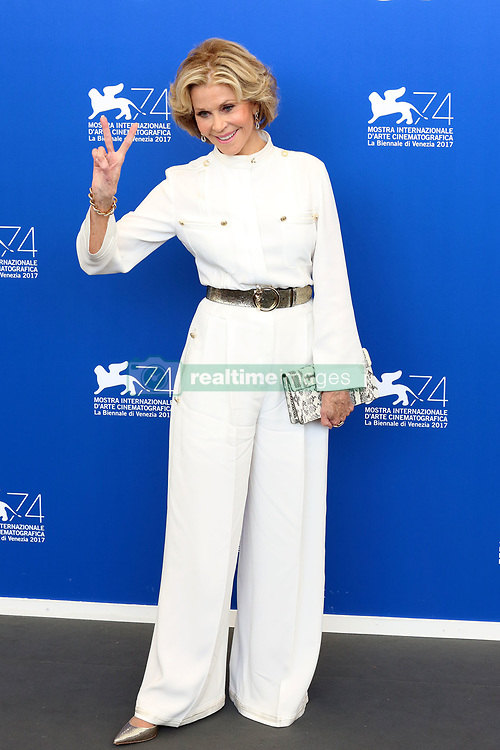 Robert Redford and Jane Fonda attend the 'Our Souls At Night' photocall during the 74th Venice Film Festival. 01 Sep 2017 Pictured: Jane Fonda. Photo credit: MEGA TheMegaAgency.com +1 888 505 6342