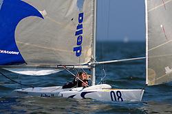 Thierry Schmitter, 2.4 mr, Day three, May 24th 2012. Delta Lloyd Regatta  (22/26 May 2012). Medemblik - the Netherlands.