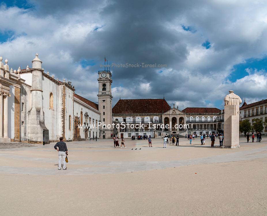 Coimbra University. Paco das Escolas, the Old University (Velha Universidade), Coimbra, Portugal