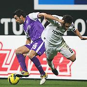 Orduspor's Miguel Angelo Moita Garcia (L) during their Turkish superleague soccer match Besiktas between Orduspor at Mardan Stadium in Antalya Turkey on Monday, 05 December 2011. Photo by TURKPIX