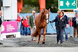 Aerne Anna-Mengia, SUI, Raffaello va Bene<br /> Dressage Vetcheck<br /> European Championship Goteborg 2017<br /> © Hippo Foto - Stefan Lafrenz