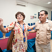 Dili, East Timor, 06 July 2012<br /> STAE General Director Tomas do Rosario Cabral meets European Parliament representatives.<br /> Photo: Ezequiel Scagnetti © European Union