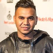 NLD/Amsterdam/20151119 - inloop Xite Awards 2015, DJ Dyna