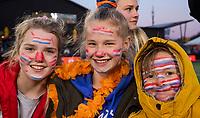 UTRECHT - oranje supporters,   na   de Pro League hockeywedstrijd wedstrijd , Nederland-China (6-0) .  COPYRIGHT  KOEN SUYK