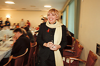 12 JAN 2001, WOERLITZ/GERMANY:<br /> Claudia Roth, MdB, B90/Gruene, vor Beginn der Klausurtagung der Bundestagsfraktion Buendnis 90 / Die Gruenen<br /> IMAGE: 20010112-01/02-11<br /> KEYWORDS: Klausur, Grüne