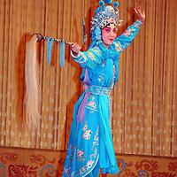 Asia, China, Beijing. Beijing Opera Lead
