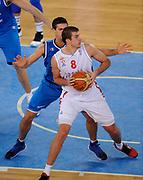 DESCRIZIONE : Lubiana Ljubliana Slovenia Eurobasket Men 2013 Finale Settimo Ottavo Posto Serbia Italia Final for 7th to 8th place Serbia Italy<br /> GIOCATORE : Nemanja Bjelica <br /> CATEGORIA : palleggio dribble<br /> SQUADRA : Serbia Serbia<br /> EVENTO : Eurobasket Men 2013<br /> GARA : Serbia Italia Serbia Italy<br /> DATA : 21/09/2013 <br /> SPORT : Pallacanestro <br /> AUTORE : Agenzia Ciamillo-Castoria/N.Parausic<br /> Galleria : Eurobasket Men 2013<br /> Fotonotizia : Lubiana Ljubliana Slovenia Eurobasket Men 2013 Finale Settimo Ottavo Posto Serbia Italia Final for 7th to 8th place Serbia Italy<br /> Predefinita :