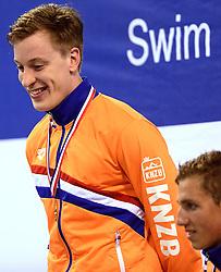 10-04-2014 NED: NK Swim Cup, Eindhoven<br /> Sebas van Lith, 200m wissel