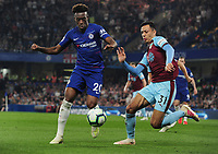 Football - 2018/ 2019 Premier League - Chelsea vs Burnley<br /> <br /> Callum Hudson - Odoi of Chelsea and Dwight McNeil of Burnley at Stamford Bridge<br /> <br /> Colorsport  / Andrew Cowie