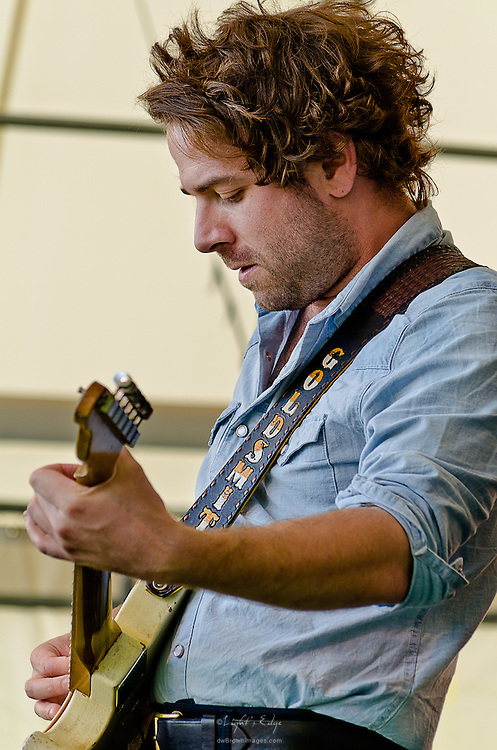 Taylor Goldsmith of Dawes at the 2012 Appel Farm Arts & Music Festival.