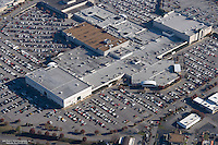 Aerial photo of Rivergate Mall on Black Friday.
