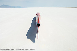 Ready for Takeoff. Bonneville Salt Flats, Utah. 2006<br /> <br /> Limited Edition Print from an edition of 30. Photo ©2006 Michael Lichter.