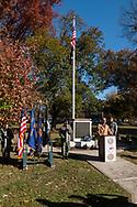Goshen, New York - Veterans Day ceremonies in the Village of Goshen on Nov. 11, 2017.